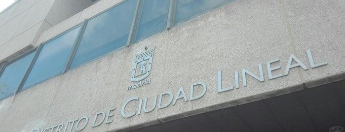 Junta Distrito Ciudad Lineal is one of Madrid.