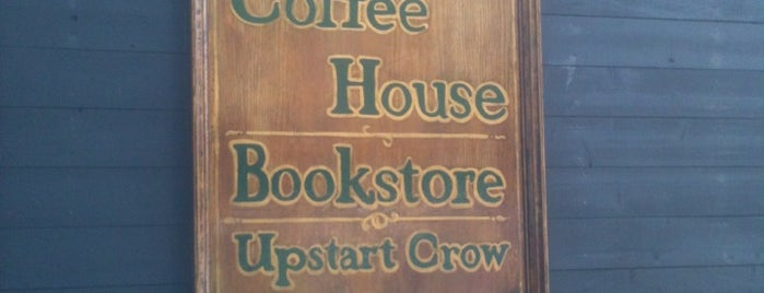 Upstart Crow Bookstore & Coffeehouse is one of San Diego To-Do List.