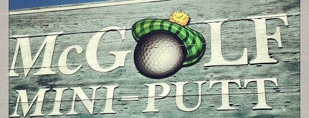 McGolf Mini-Putt & Driving Range is one of Starting A New Life.