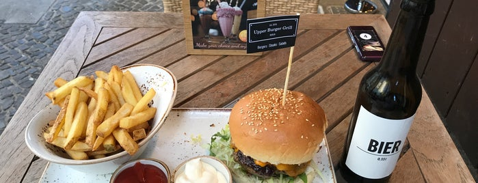 Upper Burger Grill is one of Burger!.