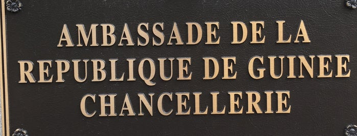 Embassy of The Republic of Guinea is one of Members.