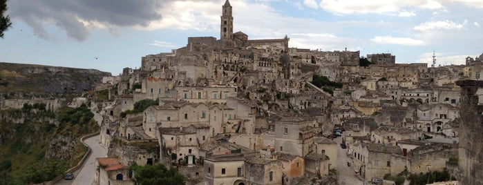 Sassi di Matera is one of Neapol.