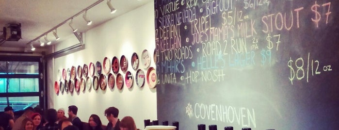 Covenhoven is one of The 15 Best Places with a Large Beer List in Brooklyn.