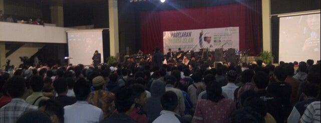 Pusat Kebudayaan Koesnadi Hardjasoemantri (Purna Budaya) UGM is one of Universitas Gadjah Mada.