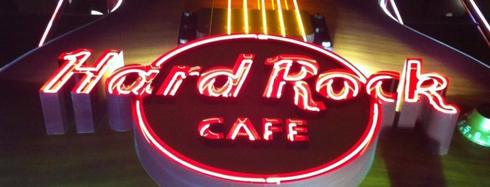 Hard Rock Cafe Las Vegas is one of Las Vegas extended.