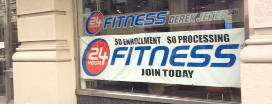 24 Hour Fitness is one of Letty's list.