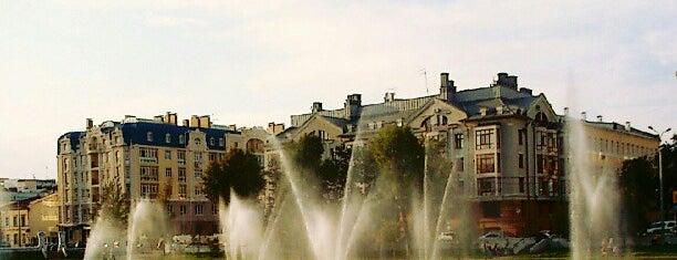 Парк «Чёрное озеро» is one of Kazan.