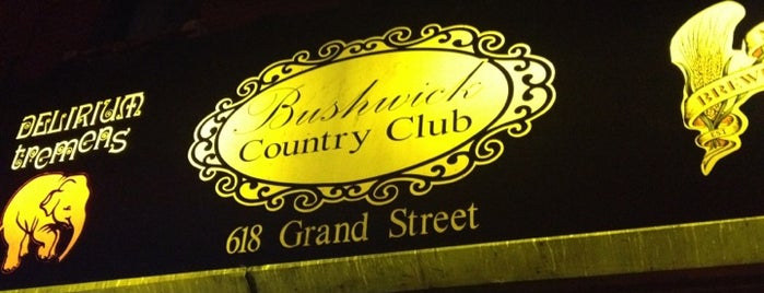 Bushwick Country Club is one of Comprehensive List of Bars in Williamsburg Bklyn.
