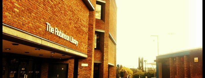 Robinson Library is one of Newcastle Upon Tyne.