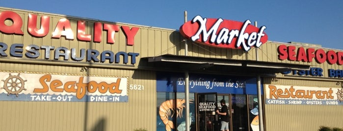 Quality Seafood Market is one of SXSW.