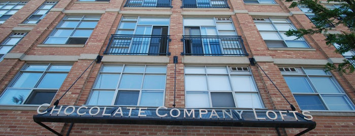 Chocolate Co. Lofts is one of The Best Lofts & Condo Buildings in Toronto.