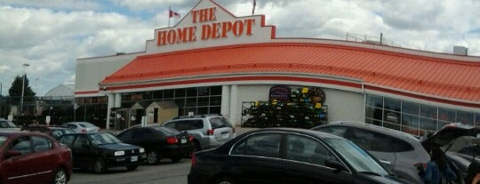 The Home Depot is one of Waterloo.