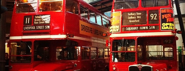 London Transport Museum is one of London tour.