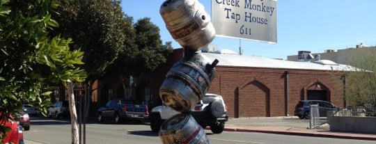 Creek Monkey Tap House is one of California Breweries 2.
