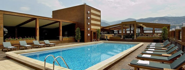 Almira Hotel Thermal Spa & Convention Center is one of Bursa- Silkworm List1.