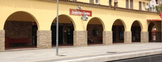 RENFE Granollers Centre is one of Tren.