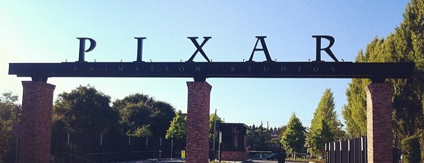 Pixar Animation Studios is one of San Francisco - May 2017.