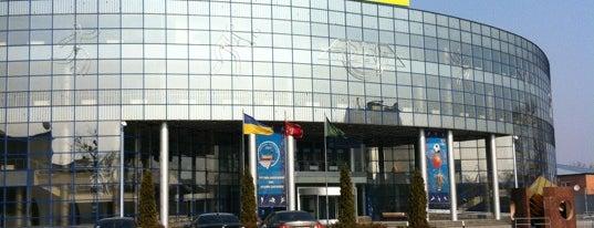 Палац спорту «Локомотив» ім. Г. М. Кірпи is one of Спорт.