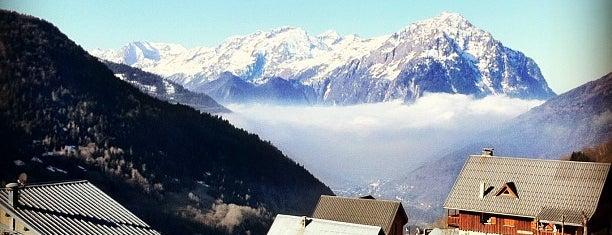 Vaujany is one of Stations de ski (France - Alpes).