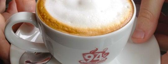 94° Coffee (ไนน์ตี้-โฟร์ คอฟฟี่) is one of Coffeelover ♪(´ε` ).