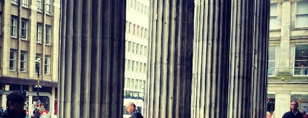 Royal Exchange Square is one of Essential Glasgow visits.