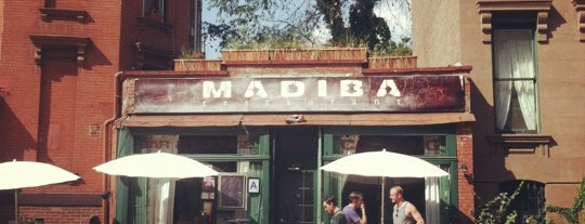 Madiba Restaurant is one of USA NYC BK Crown Heights.