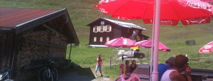 Kobinger Hütte is one of Mountainbiken im Brixental.