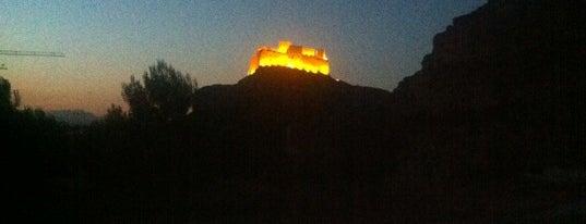 Castillo de Monzón is one of HOSTAL TORRE MONTESANTO.