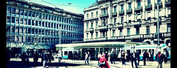 Paradeplatz is one of Zurich Guide.