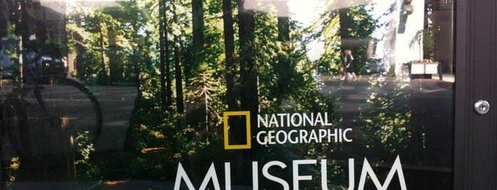 National Geographic Museum is one of December in DC.