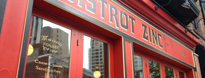 Bistrot Zinc is one of To-do eat.