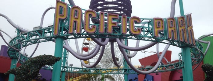 Pacific Park is one of USA Trip 2013 - The West.