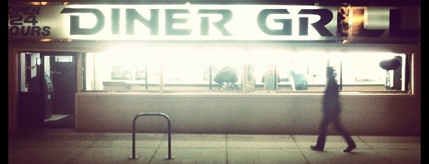 Diner Grill is one of Restaurants That (Almost) Never Close.