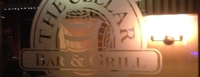 The Cellar Bar & Grill is one of 5 favorite sit-down restaurants.