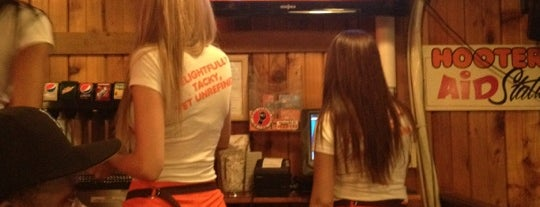 Hooters is one of NYC TO DO's.