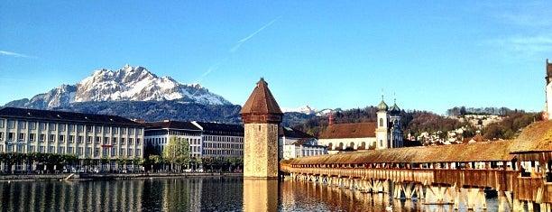 Seebrücke is one of Discover Lucerne.