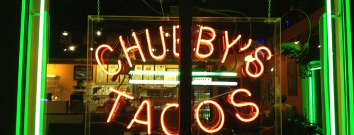 Chubby's Tacos is one of Places to try.
