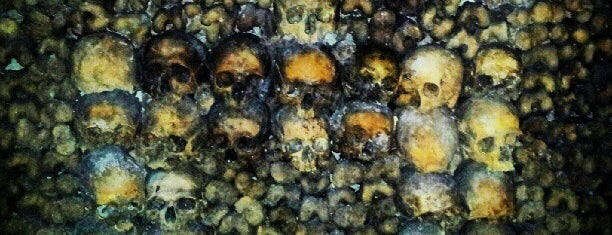 Catacombs of Paris is one of Paris must see.