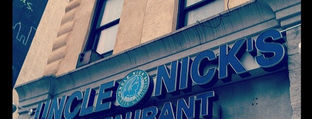 Uncle Nick's Greek Restaurant on 8th Ave is one of Nyc.