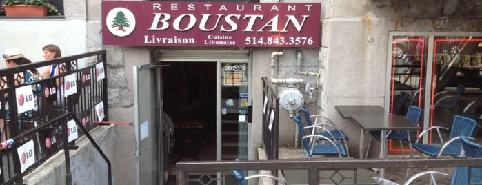 Boustan is one of The 15 Best Places for a Falafel in Montreal.