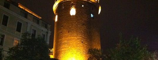 Galata Kulesi is one of Istanbul - En Fazla Check-in Yapılan Yerler-.