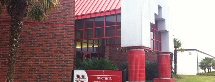 Thimothy R. Lindsey Jr. Hall, NSU is one of Nicholls State University.