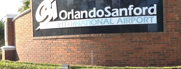 Orlando Sanford International Airport (SFB) is one of Airports I've Been To.