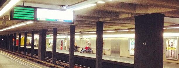 Montgomery (STIB / MIVB) is one of Belgium / Brussels / Tram / Line 25.