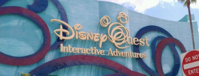 DisneyQuest® is one of Florida.