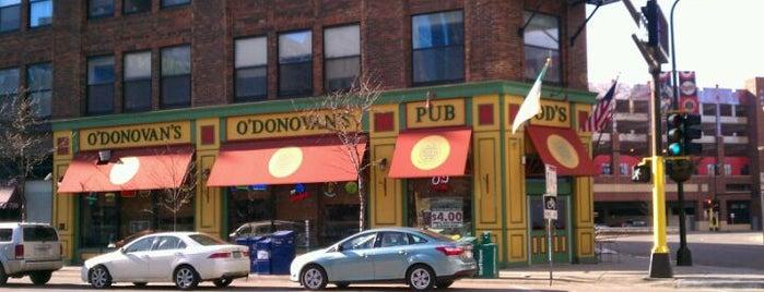 O'Donovan's Irish Pub is one of Minneapolis and St.Paul Restaurants & Bars.