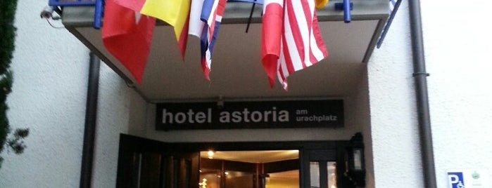 Hotel Astoria Am Urachplatz is one of Hotels I've lived in.