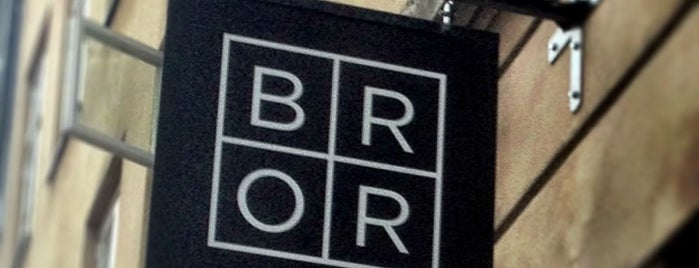 Restaurant BROR is one of Prosume Copenhagen.