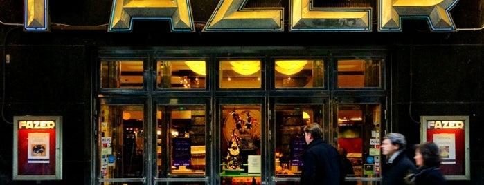 Fazer Café is one of Helsinki.