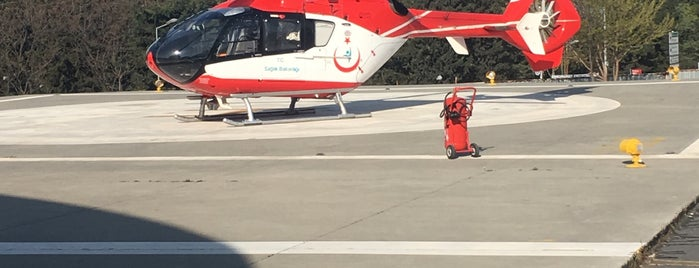 Bagcilar Heliport is one of HAVALİMANLARI.